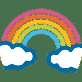 The rainbow emoji