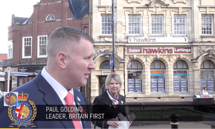 Paul Golding was jailed for 18 weeks in March 2018 for hate crimes against Muslims