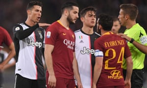 promo code 3de2c 73a81 Florenzi inspires Roma win and leaves Ronaldo feeling small ...