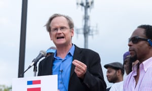 Lessig previously said he would resign his position at Harvard and focus on the nomination race if he raised at least $1m by Labor Day.