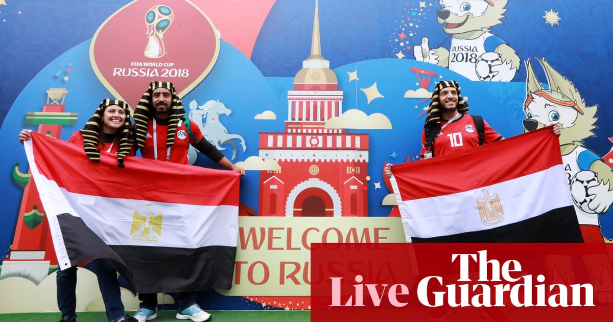 World Cup 2018: Russia v Egypt – live!