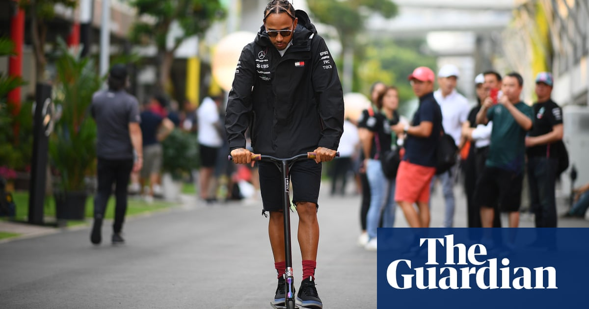 Lewis Hamilton 'down for some hard racing' in Singapore after Leclerc clash