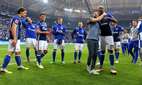 Domenico Tedesco's bravery returns joy and European football to Schalke