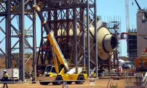 Citic Pacific's Sino Iron project in the Pilbara