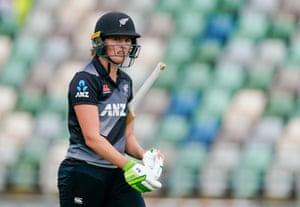 Amy Satterwaite departs.