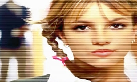 Teenage dream: Britney in the…Baby One More Time video.