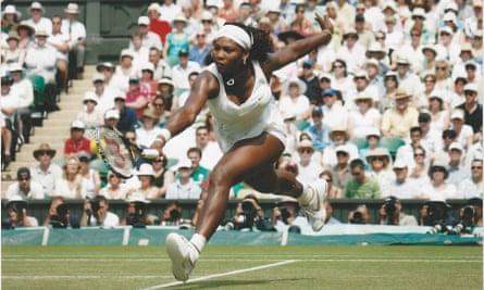 Court genius ... Serena Williams in Unravelling Athen.