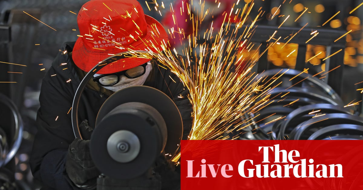 China industrial output and retail sales surge in Covid-19 rebound – business live
