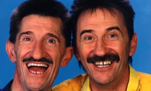 Barry and Paul Chuckle. Not sure which is which.