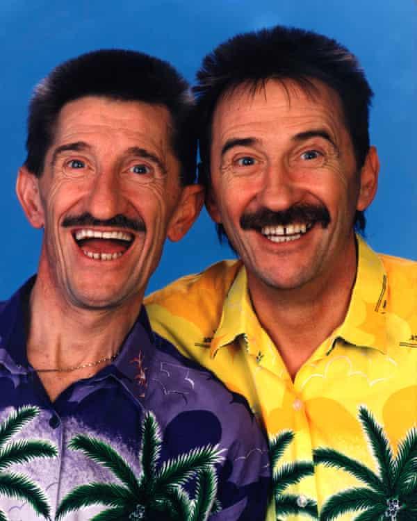 Barry and Paul Chuckle.