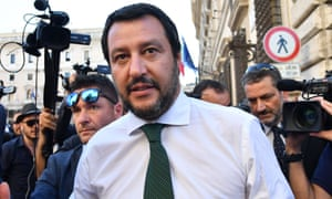 Matteo Salvini has been described as a 'media animal' who will continue to project false realities
