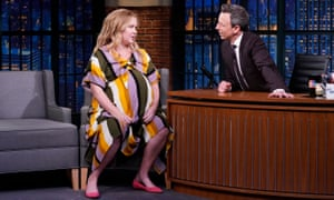 Amy Schumer on Late Night with Seth Meyers
