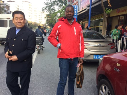 Antonio José, 42, a furniture dealer from Luanda who has been travelling to Guangzhou since 2010