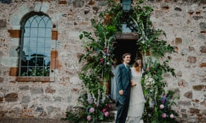 Tess and Alfred Newall: 'The wedding day was perfect.'