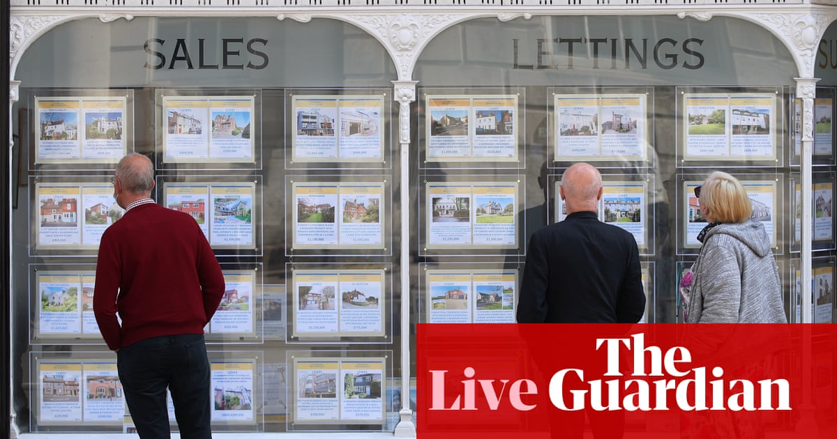 UK annual house price growth hits 13.4% en junio, highest since 2004 – business live