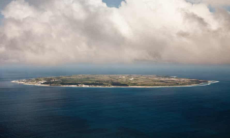 The island of Nauru