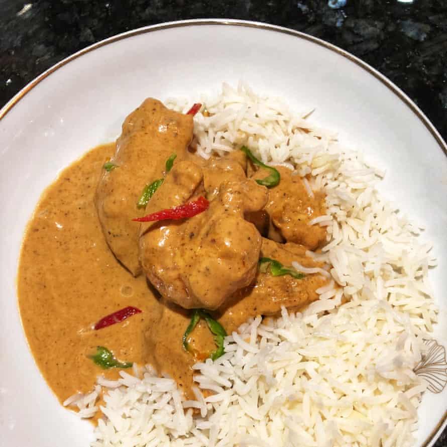 Vanessa Bolosier's West African peanut stew.