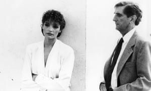 Mary Elizabeth Mastrantonio and  Harry Dean Stanton and Slam Dance, 1987