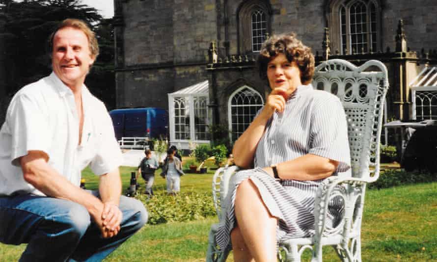 'Nobody has sex in Filey' … Dibb with AS Byatt in 1996.