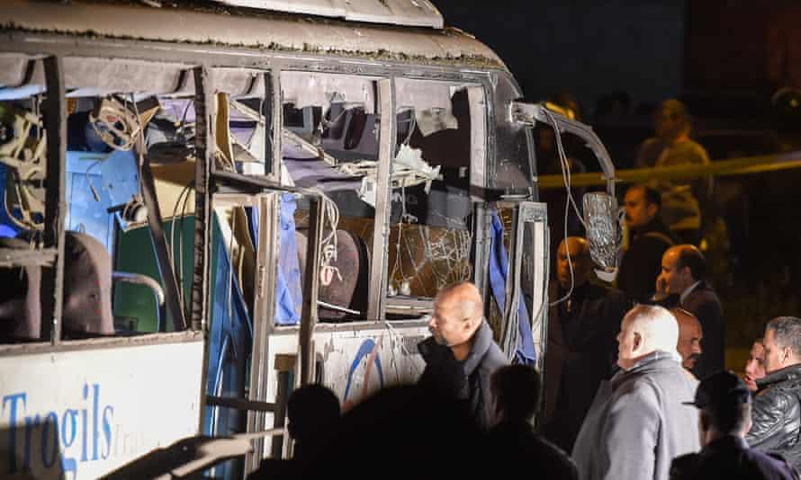 Egypt bus explosion