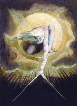 William Blake's The Ancient of Days.