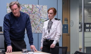 Supt Ted Hastings (left), played by Adrian Dunbar, and PC Tina Tranter (Natalie Gavin)