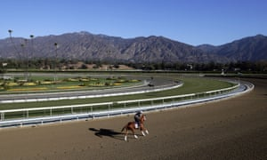 Santa Anita is due to host the Breeders' Cup in November
