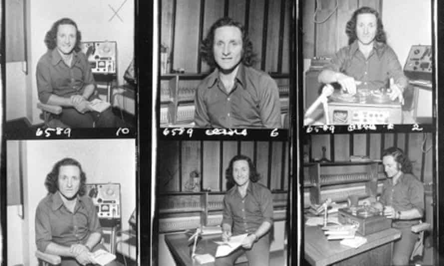 Early publicity photos of science broadcaster Robyn Williams, courtesy of the ABC
