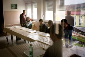 Ljeskovica home for adults with mental health problems, deep in the Pozega forest