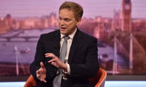 The UK transport secretary, Grant Shapps, made his comments on the Andrew Marr Show.