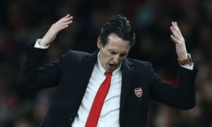 Unai Emery took over from Arsène Wenger in May 2018 but has been unable to return Arsenal to the Champions League.