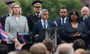Sadiq Khan speech London Bridge