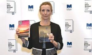 Anna Burns winning the man booker prize