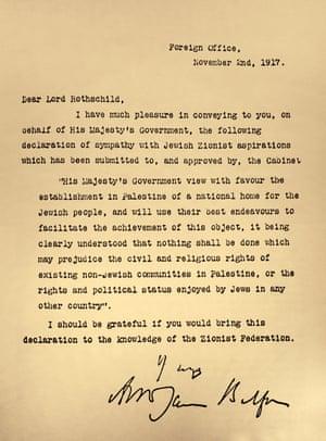 Balfour宣言