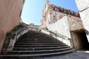The city's baroque Jesuit staircase, the site of an iconic Game of Thrones scene during which Queen Cersei is forced to publicly walk naked down the steps after confessing to adultery