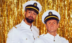 Ashley Banjo and Alexander Armstrong.