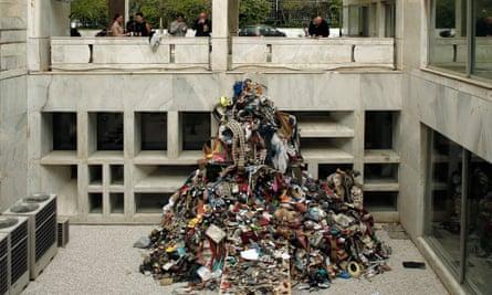 Daniel Knorr's installation Artist Book.