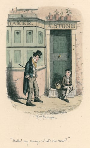 Frederick William Pailthorpe, Hullo my covey, 1886 from Oliver Twist by Charles Dickens