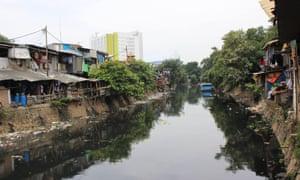 Kampung Tongkol pictured before its revitalisation programme.