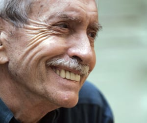 Edward Albee is photographed during a 2008 interview in New York.