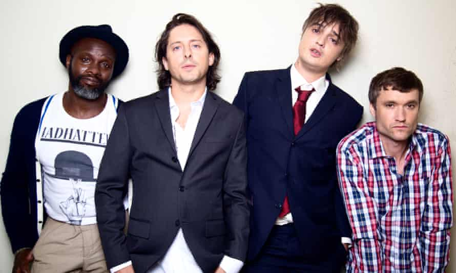 Portrait of The Libertines, who are to open a new hotel, bar and studio in Margate, this summer