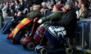 Disabled access at Premier League grounds