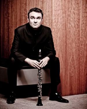Clarinettist-composer Jörg Widmann.