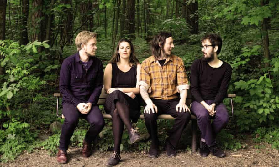 Enjoying the ride … Norwegian jazz-pop band Mooyh.