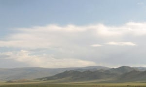 the steppes of Mongolia.