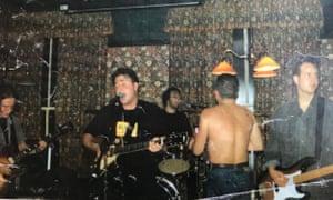 Powersleep performing in Leeds in the mid-90s
