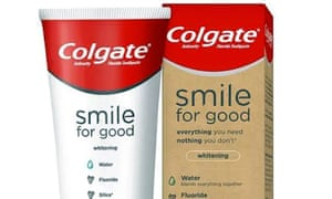 Colgate's Smile for Good toothpaste