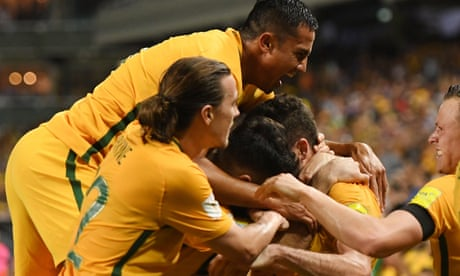 Socceroos remain in control of their World Cup destiny with win over UAE