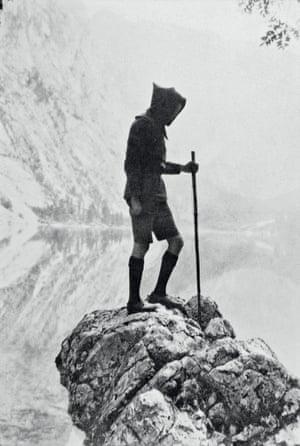 Angus McBean in Switzerland, 1930