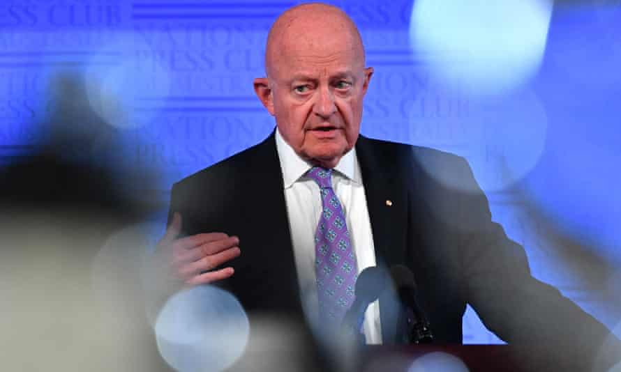 Former US director of national intelligence James Clapper